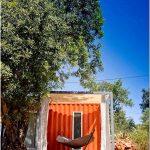 Дизайнерский мини-отель nomad для кочующих путников от компаниии studio arte architecture #038; design, algarve, португалия