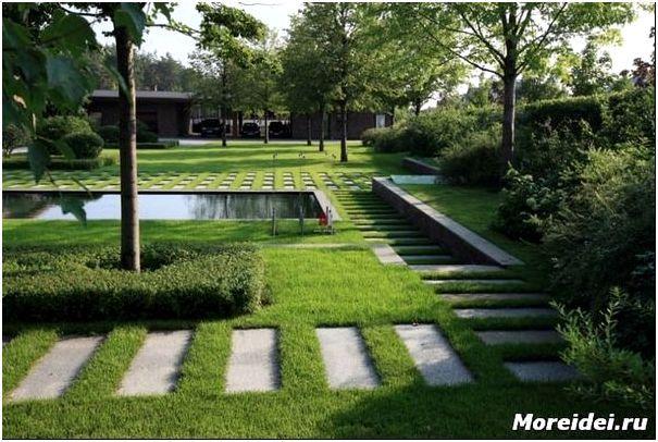 Современный сад