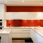 Фартук для кухни из стекла: 75+ функциональных моделей