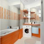 Дизайн ванны совмещенной с туалетом (105 фото)