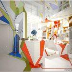 Экспрессия цвета в дизайне дома в стиле лофт