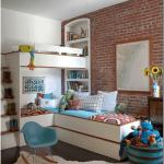 Оформление детской комнаты: цвет, мебель, зонирование, материалы (104 фото)