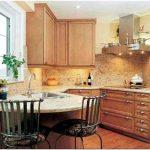 Как увеличить дизайн интерьера маленькой кухни ?