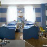 Ключевые детали дизайна прямоугольной детской комнаты