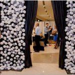 Креативное оформление магазина молодёжной одежды carven, манила, филиппины