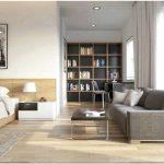 Дизайн гостиной спальни (116 фото)