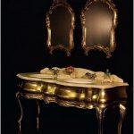 Роскошная итальянская мебель для ванной комнаты — 15 фото