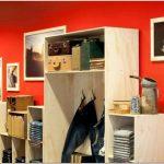 Яркий и уютный pop-up магазинчик знаменитого бренда levi strauss от rcg, окленд, новая зеландия