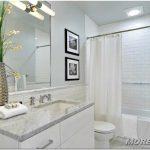 Шторы для ванной комнаты — 32 фото