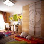 Оригинальная детская спальня в ярких тонах — концептуальный интерьер от neopolis