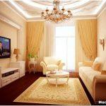 Выбираем цвет, мебель и отделку для дизайна небольшой гостиной