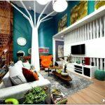 Интересный дизайн домашнего интерьера: принципы, варианты и воплощение