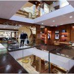 Потрясающая разработка дизайна магазина louis vuitton maison от brenno del giudice, венеция, италия