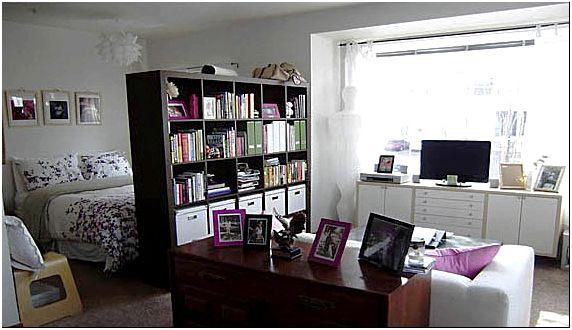 Фото 5 — Интерьер зала в однокомнатной квартире