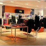 Оранжево-неоновый магазин y-3