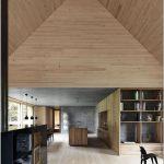 Минималистский концепт haus am moor от компании bernardo bader architects, vorarlberg, австрия