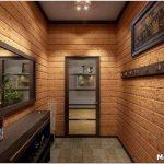 Дизайн узкого коридора — отделка и выбор цвета