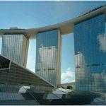 Красивые здания мира — отель marina bay sands