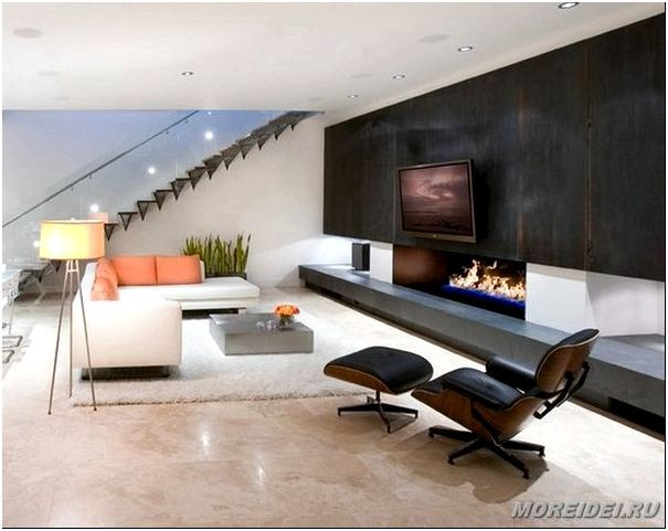 фото дизайна современной гостиной