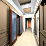 Дизайн длинного коридора (96 фото). ищем интересные решения