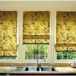 Выбираем шторы в кухню