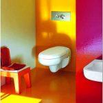 Яркая сантехника для детской ванной комнаты от laufen