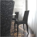 Снежная нежность интерьера апартаментов в чёрно-белом цвете от дизайнера marcel wanders