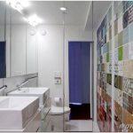 Необычный дизайн плитки в ванную
