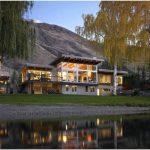 Коттедж на берегу реки, или ожившая сказка для дружной семьи: central washington river house от mcclellan architects, сша