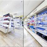 Потрясающая коллекция мебели pentagon design для сети магазинов розничной торговли lumene