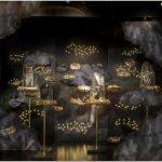Праздничная витрина de bijenkorf — волшебная сказка от арт-студии uxus, амстердам, нидерланды
