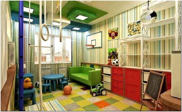 Фото — 46 Игровая комната для детей