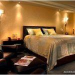 Выбор освещения в спальне — 40 фото