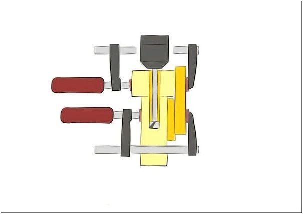 Шаг 3 — Схема для вырезания соединений для сборки