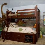 Подарите радость малышам – оригинальные фрески с динозаврами для детских спален