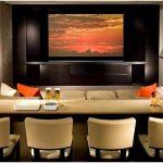 Современный домашний кинотеатр – гармоничный симбиоз высококлассной аппаратуры и элегантного интерьера