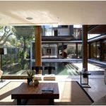 Необычная планировка дома на острове бали