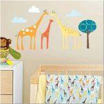 Стены в детской комнате: несколько идей декора своими руками (81 фото)
