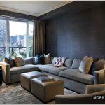 Угловые диваны в интерьере — 50 фото