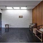 Солнечный дом на теннисном корте от архитектора jessica lew, мельбурн, австралия