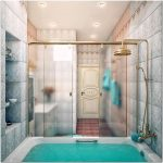 Винтажный дизайн интерьера ванной комнаты от happy irena