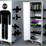 Оригинальные современные шкафы — 15 фото