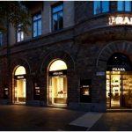 Потрясающий дизайн магазина одежды prada от roberto baciocchi, стокгольм, швеция
