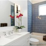 Цветы в ванную комнату — 50 фото примеров