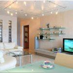 Стиль хай — тек в интерьере квартиры 44 кв.м
