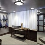Изысканное оформление бутика мужской одежды joseph abboud