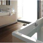 Коллекция мебели для ванной комнаты из натурального дерева