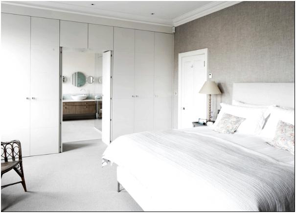 Фото 1 – Спальня в скандинавском стиле