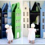 Очаровательные шкафы amsterdam для детей от компании kast van een huis ? добрые призраки старого города