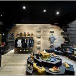 Дизайн магазина одежды и обуви panthers: креативность в каждой детали
